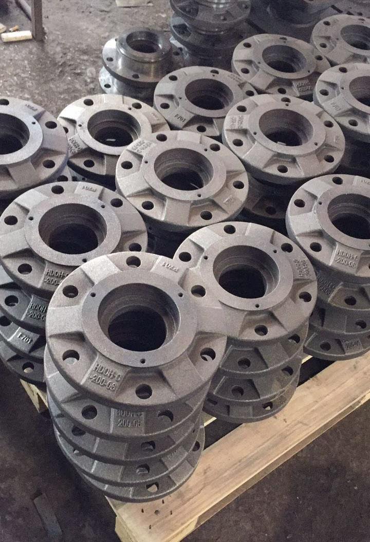 轮毂 奥贝球铁铸件